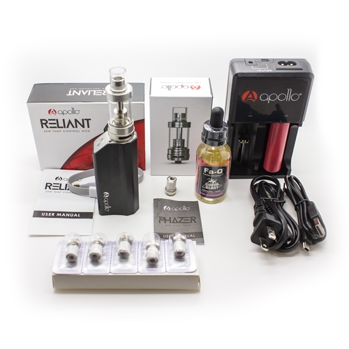 Reliant Vape Pen Mod Kit with Accessories